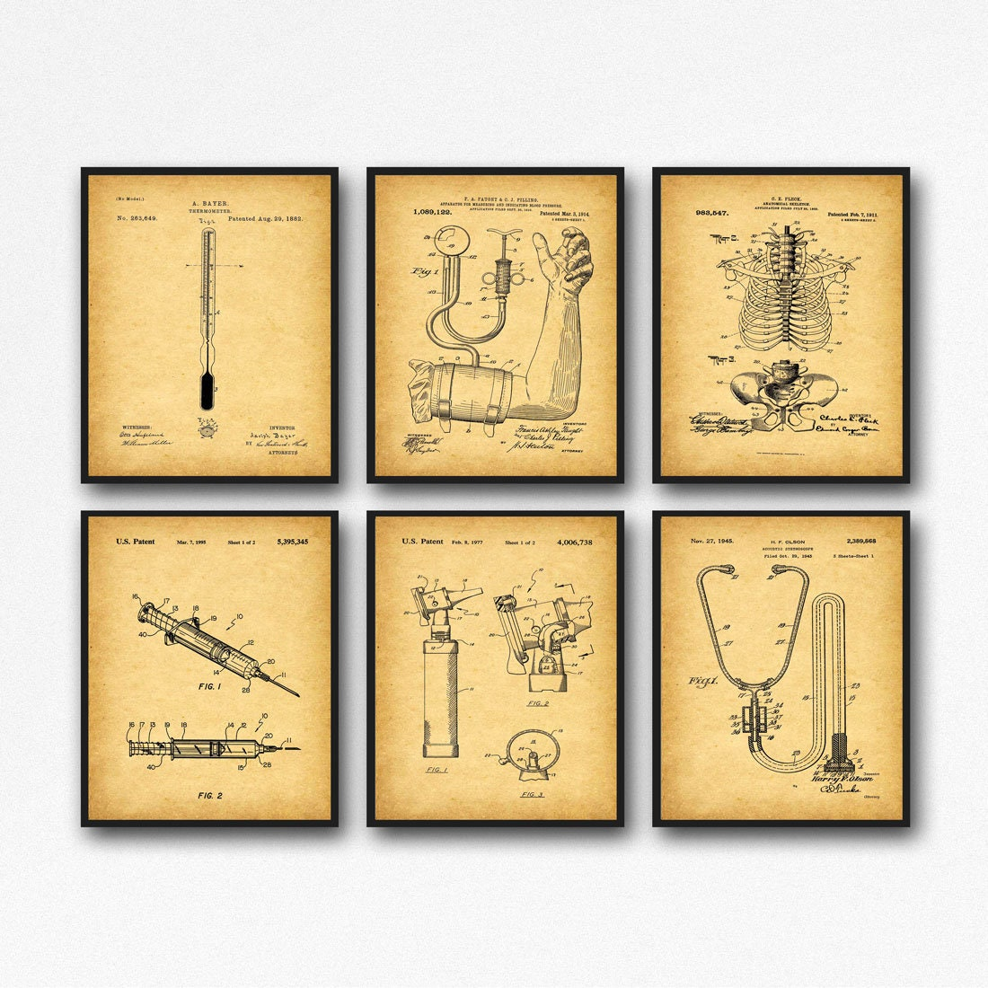 Medical Posters Doctors Surgery Decor Doctor Wall Art Medical Decor ...