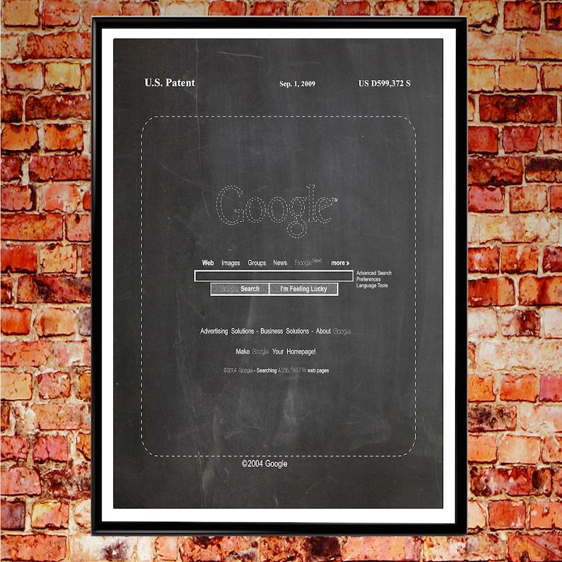 Google Search Google Homepage Patent Print Google Search Patent Google  Translate Computer Wall Art IT Wall Art Google Maps Google Docs WB083