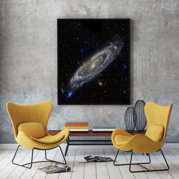 Andromeda Galaxy Poster Space Decor Space Poster Space Wall Art Space Photo Nebula Poster Nebula Print Galaxy Print Outer Space Wall Art