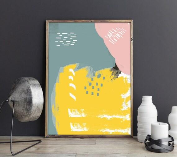 Modern Abstract Art Print - Abstract Poster - Abstract Print - Abstract Decor