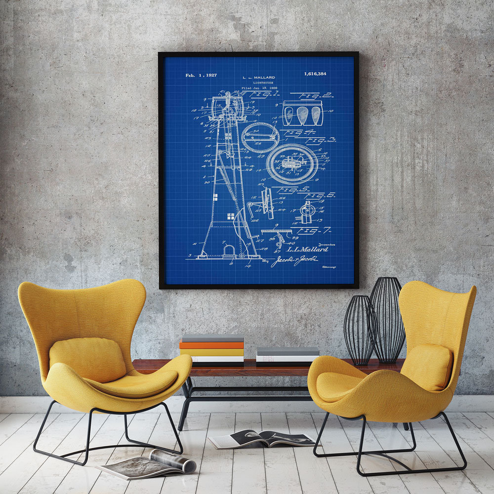 Lighthouse patent print lighthouse decor marine poster lighthouse lighthouse patent print lighthouse decor marine poster lighthouse print lighthouse blueprint nautical decor lighthouse art print wb250 malvernweather Image collections