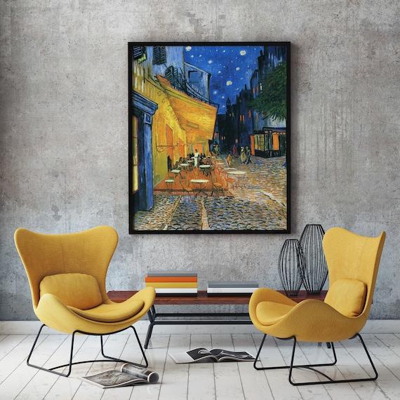 Modern Painting by Van Gogh Painting Cafe Terrace Place du Forum Arles 1888 Vincent Van Gogh Van Gogh Wall Art Van Gogh Art