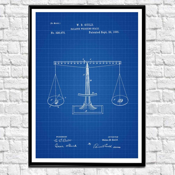 Law Balance Law Decor Scales of Justice Decor Justice Poster Barrister Gift Lawyer Gift Lawyer Decor Law Wall Art Law Gifts Attorney WB388