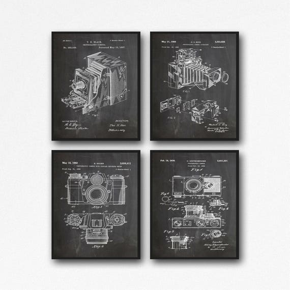 Camera Posters Camera Patents Posters Camera Decor Photography Decor Photography Posters Photo Decor Camera Wall Art Camera Art (WB126)