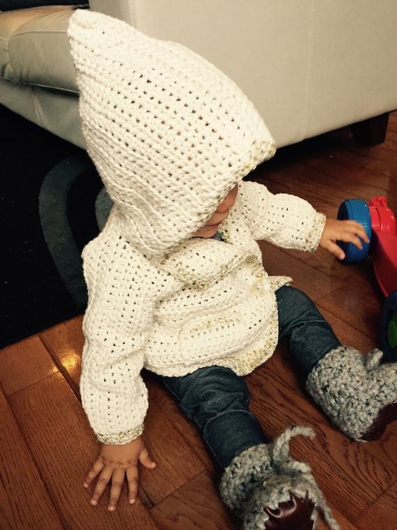 Del ganchillo suéter patrón bebé suéter del ganchillo   Etsy