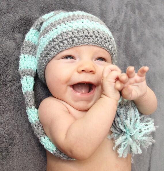 Häkeln Sie Baby Mütze Neugeborene Fotografie Requisiten   Etsy