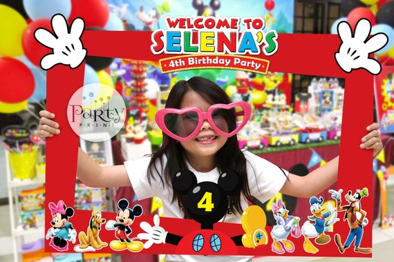 Print It Yourself Digital Copy Mickey Mouse Clubhouse Inspired Diy