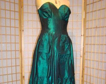 Fabulous Green Evening Dress