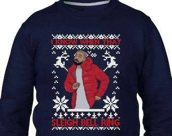 i know when that sleigh bell ring christmas jumper music song charts funny jumper christmas jumper day em136