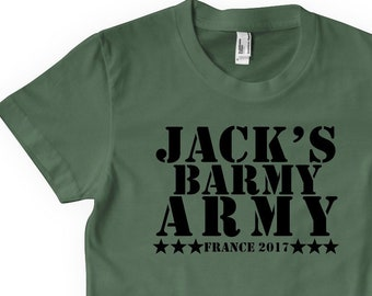 927c6679 Barmy Army Stag Do Personalised T Shirt Top