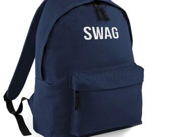 8722a55ff08 Swag Backpack Back to School Street Bag Ruck Sack