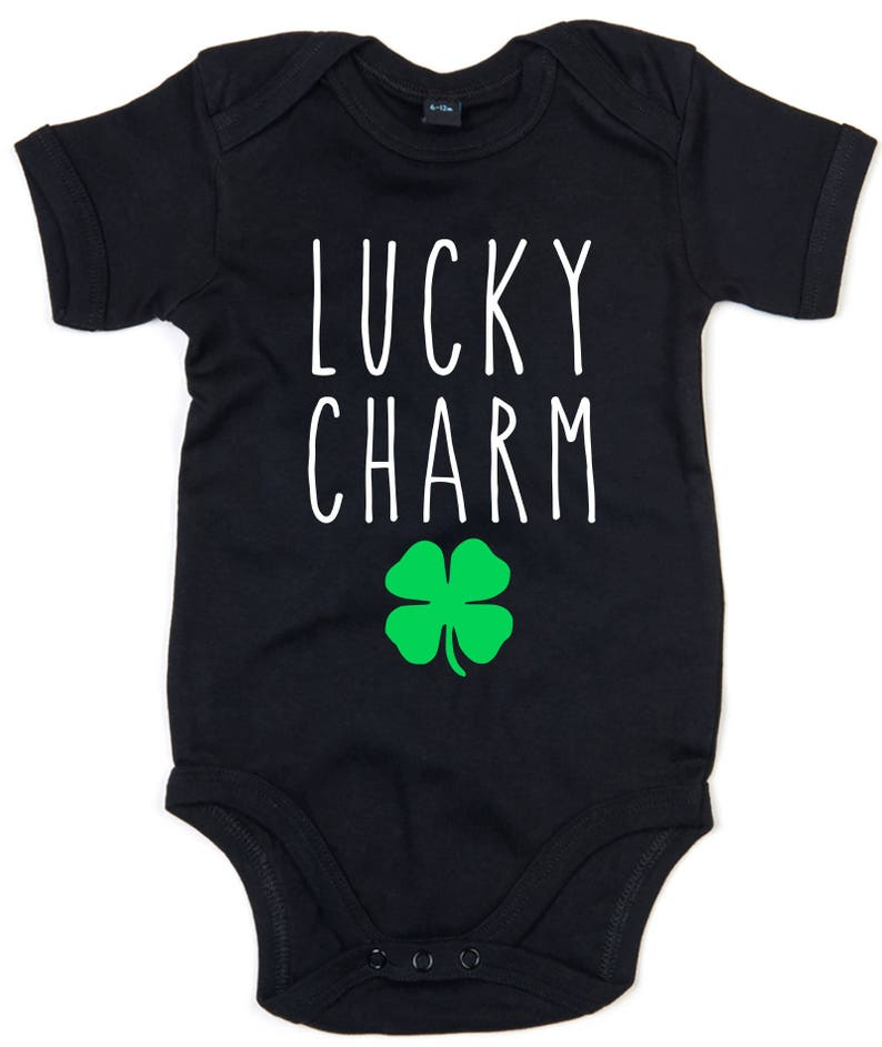 Personalised First St.Patricks 2019 Romper Baby Gifts Ireland Irish Babygrow
