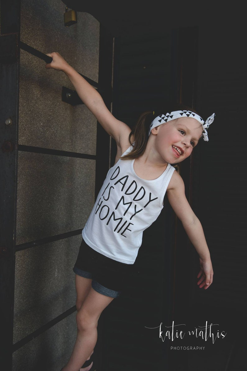 Father/'s Day Tank Top or Raglan First Father/'s Day Daddy Is My Homie Onesie
