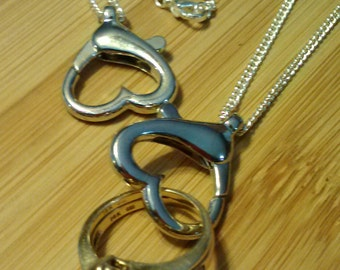 Ring Keeper Necklace Ring Holder Necklace