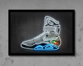 Air MAG Shoes DIY Pdf Back to the Future Templates 3D papercraft Dxf