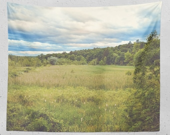 Upstate New York Bird Sanctuary Tapestry - Real Photography - 3 Sizes