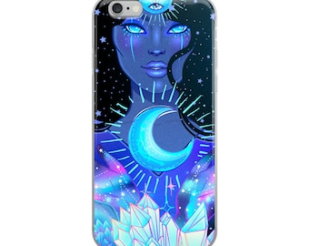 Noctournal Goddess iPhone Case