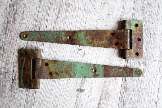 Old Door Hinges Barn Door Hinges Salvaged Door Hinges