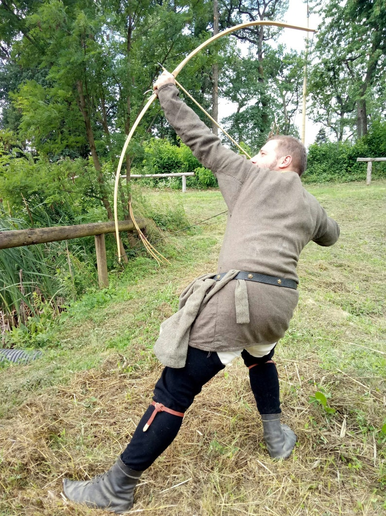 Medieval Viking Bow Warrior Archer Sca Reenactment Bow Norse Etsy