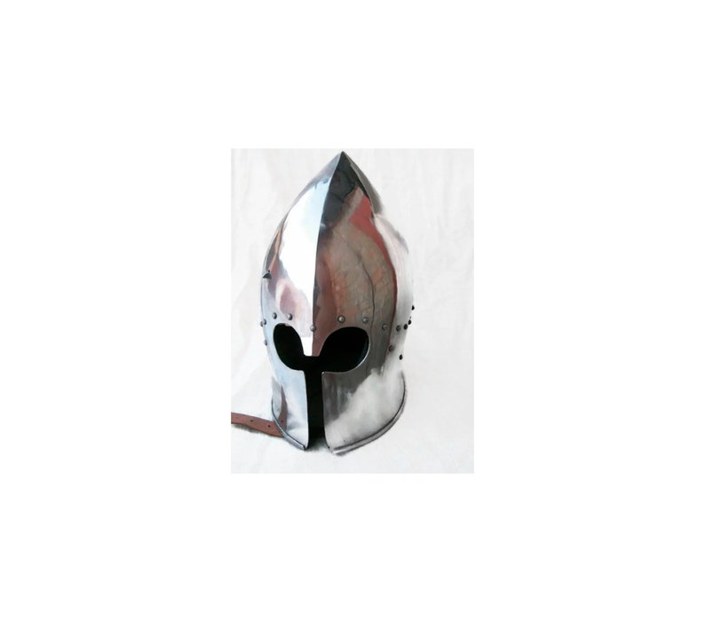 Reconstruction Helmet, HMB Helmet, IMCF Helm, Steel Armor Helmet, Knight's  Protection, Armor Cosplay, SCA Armor, Armored Combat League Helm