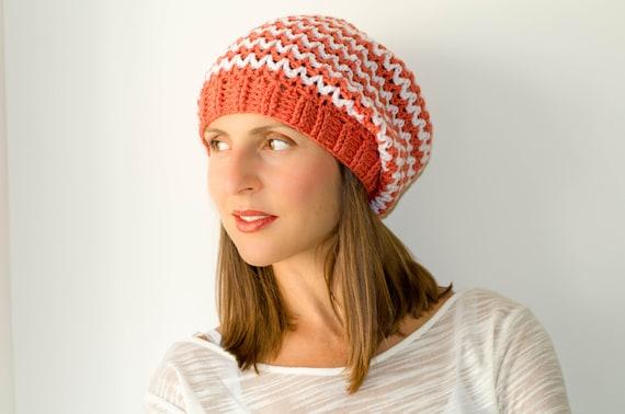 Knit hats women womens beanies slouchy beanie hat knit  a308ba6e43