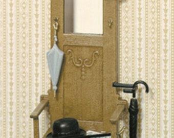 Dollhouse Miniature Hall Stand Kit F-180 NOS #C2107