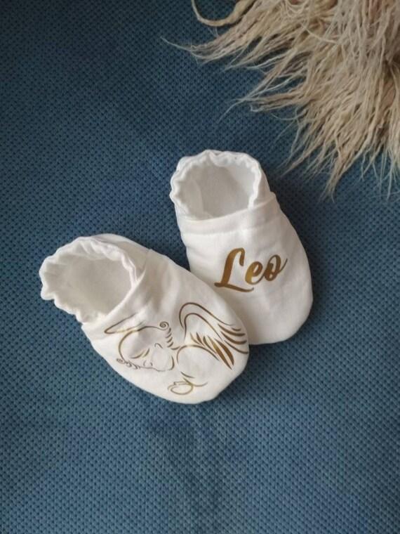 Neue Baby Geschenke Taufe Baby Schuhe Taufe Outfit Junge Mädchen Weiße Babyschuhe Baby Schuhe Taufe Geschenk Taufe Personalisierte Baby Schühchen