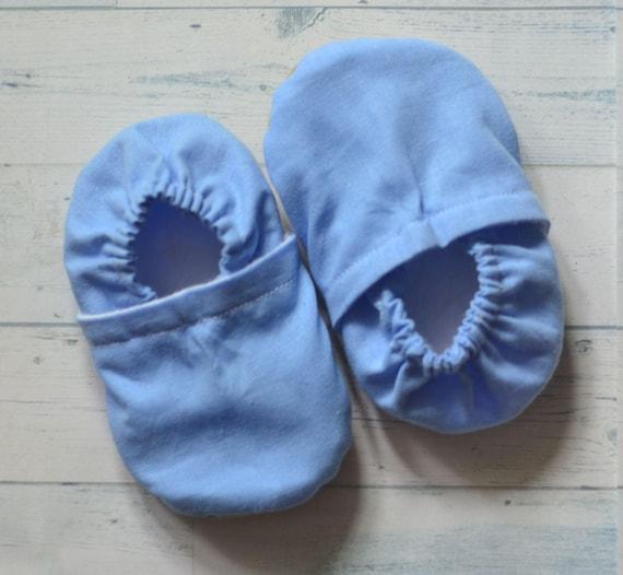 9210de9067b4b chaussures bleues de nouveau-né bébé premier anniversaire