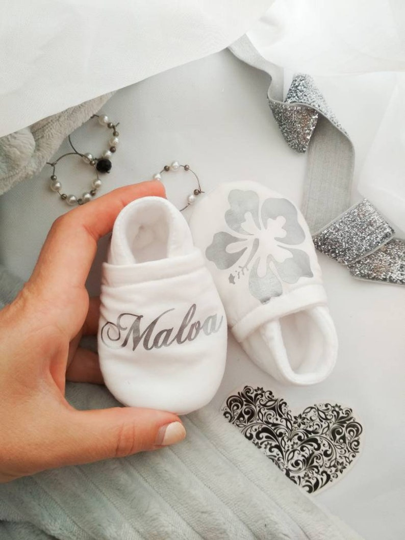 cb9b42bb8dce Flower baby shoes Baby girl shoes personalized baby gift
