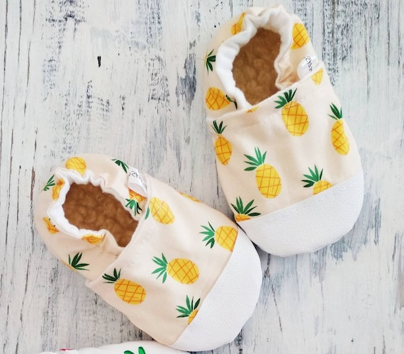 Pineapple baby shoes pineapple party