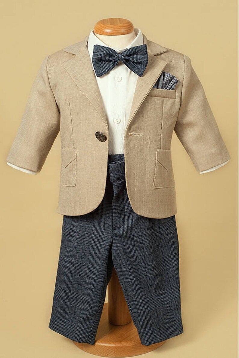 d0ed4db6ac3d8 Podróż w stylu garnitur chłopca specjalne okazja garnitur | Etsy