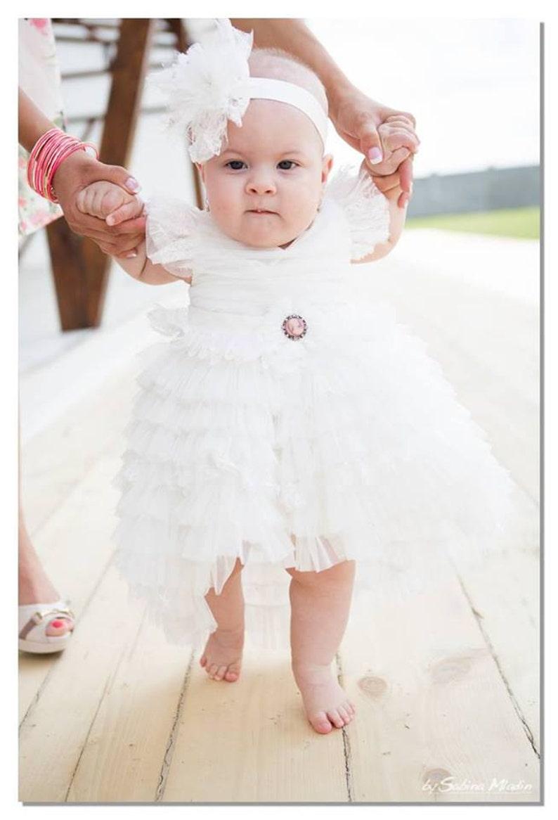 00945ada82e33 Baby Vintage Train Dress Cameo Flower Girl | Etsy