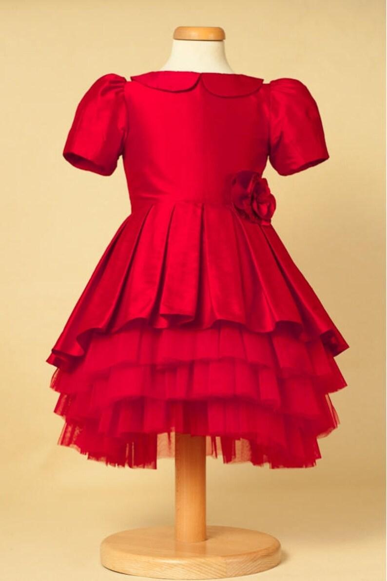 7e93307185db3 Red Rose Flower Girl Dresses   Lixnet AG