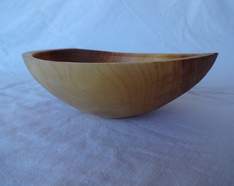 Spalted 2h x 5.25d Quilted Hand Made Wooden Bowl Hand Turned Maple Bowl