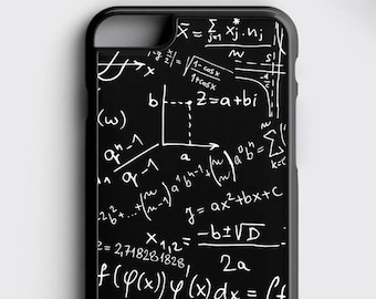 Mathematical Gifts iPhone 8 Case Science Teacher Gift iPhone 7 Plus Case - Math Geek iPhone 6S Case - Mathematician Gift iPhone X Case