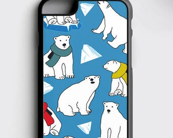 58ebedc5d3 Polar Bear Samsung S8 Case Greenpeace iPhone Case, Bear iPhone 7 Case  Arctic iPhone 6S Rubber Case iPhone SE Case Gift for Her