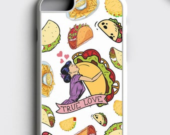99de379df0 Taco Lover Gift iPhone 8 Case, Tacos Tuesday iPhone 7 Plus Case - Tumblr  Samsung S8 Case True Love iPhone 6S Case Mexican Food iPhone Cover