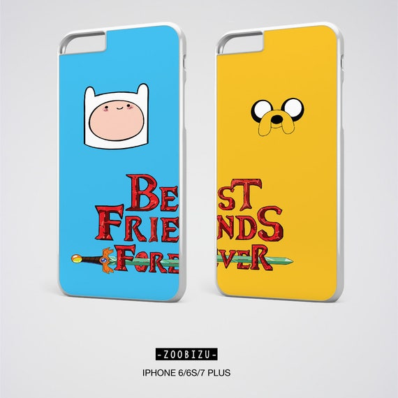Best Friend Iphone Cases Adventure Time Bff Case Best Etsy