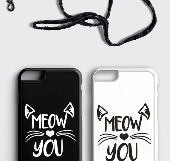 Cat Lover Gift Iphone 6 Case Cat Iphone 6s Case Meow Iphone 7 Case Cute Cat Iphone Case Gift For Her Daughter Gift Kitten Iphone Se Case