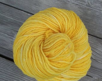 Babydoll Southdown Worsted Weight Hand Spun Yarn