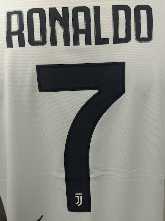 Cristiano Ronaldo Juventus Home Football Soccer Jersey Serie  d578dcc9a