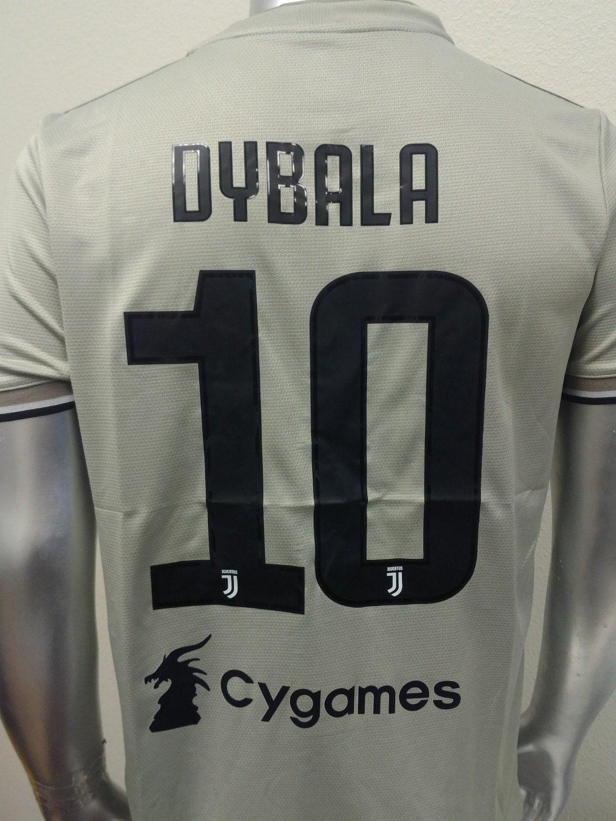 best website 7e2fd 0be25 Dybala #10 Juventus Away Soccer Jersey - Serie A 2018-2019
