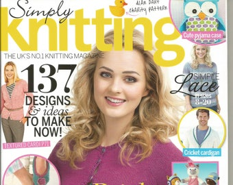 Simply Knitting 2014 May Issue 120