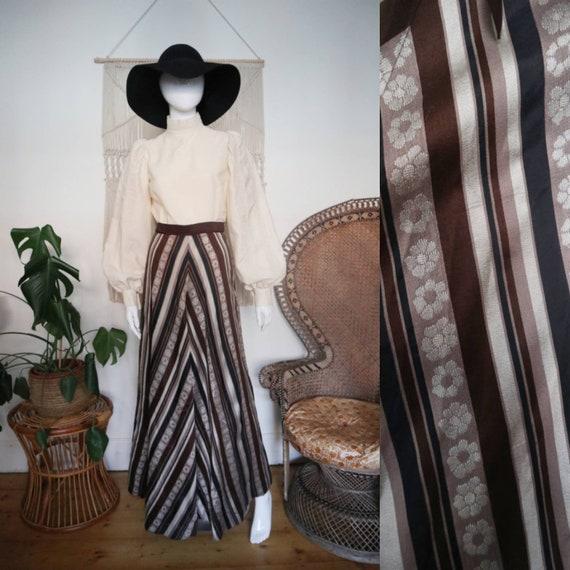 Vintage 1970's Marion Donaldson maxi dress RARE