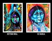 Poster Print - Native Chief Series by Tammy Eagle Hunter