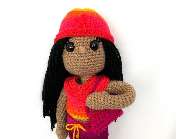 Jazzi Crochet Doll Pattern