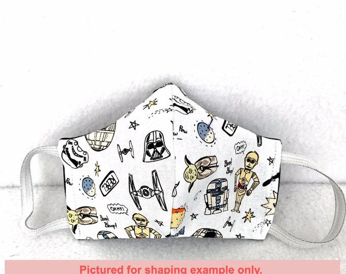Custom Mask, Cotton Mask, Handmade Mask, Adult to Child Sizes