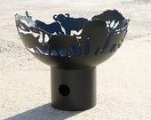 African Safari Fire Bowl