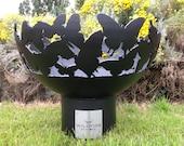 Butterflies Fire Bowl