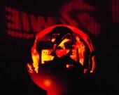 David Bowie Fire Sphere